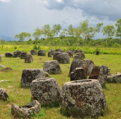 The plain of jars Laos 9